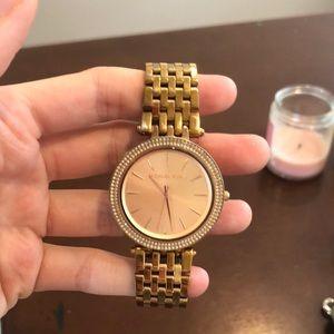 Michael Kors gold tones women's watch